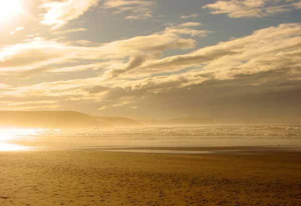 Playa de Xagó en Asturias
