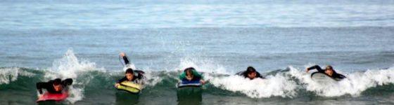 cursos de surf en hotel la llosa de fombona